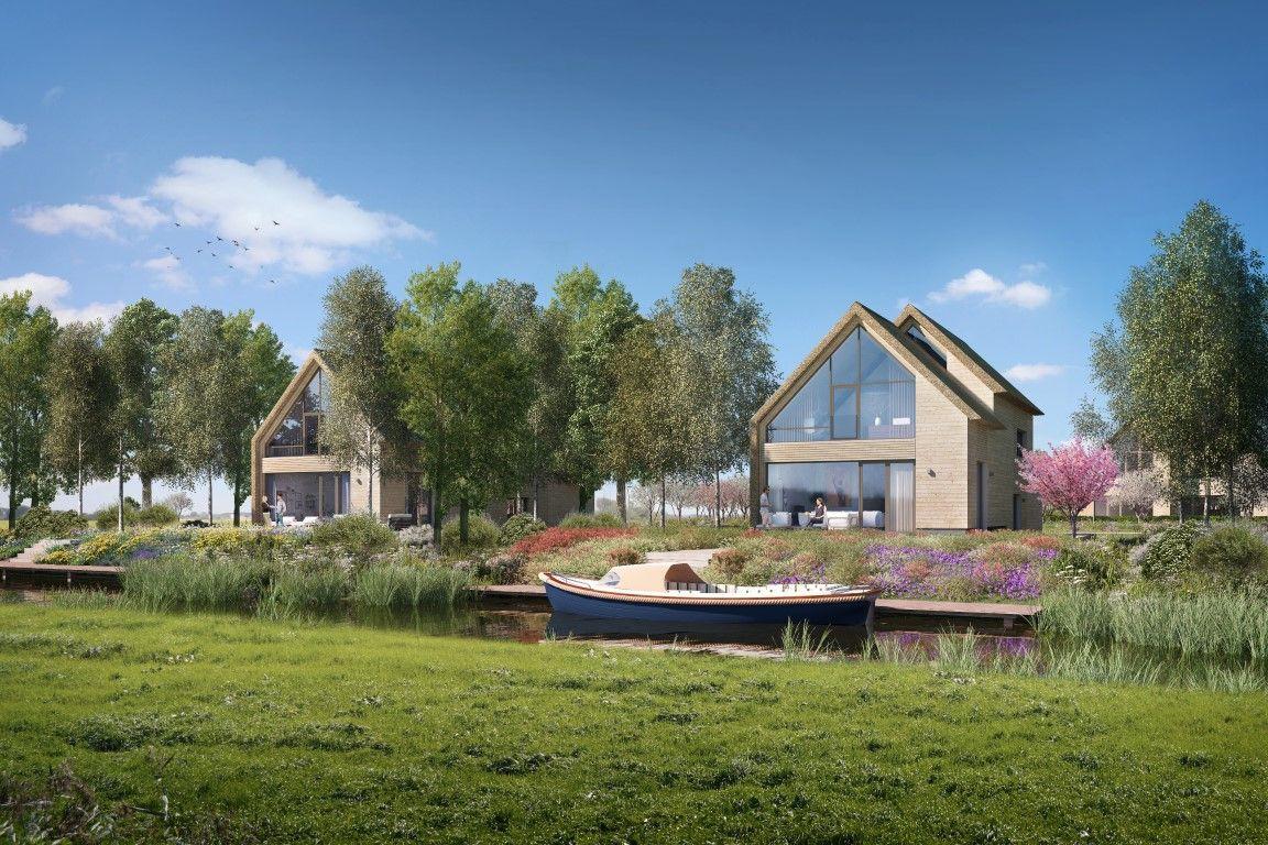 Houten huisje van Vink Bouw te Roosenhorst ontworpen door Atelier PRO