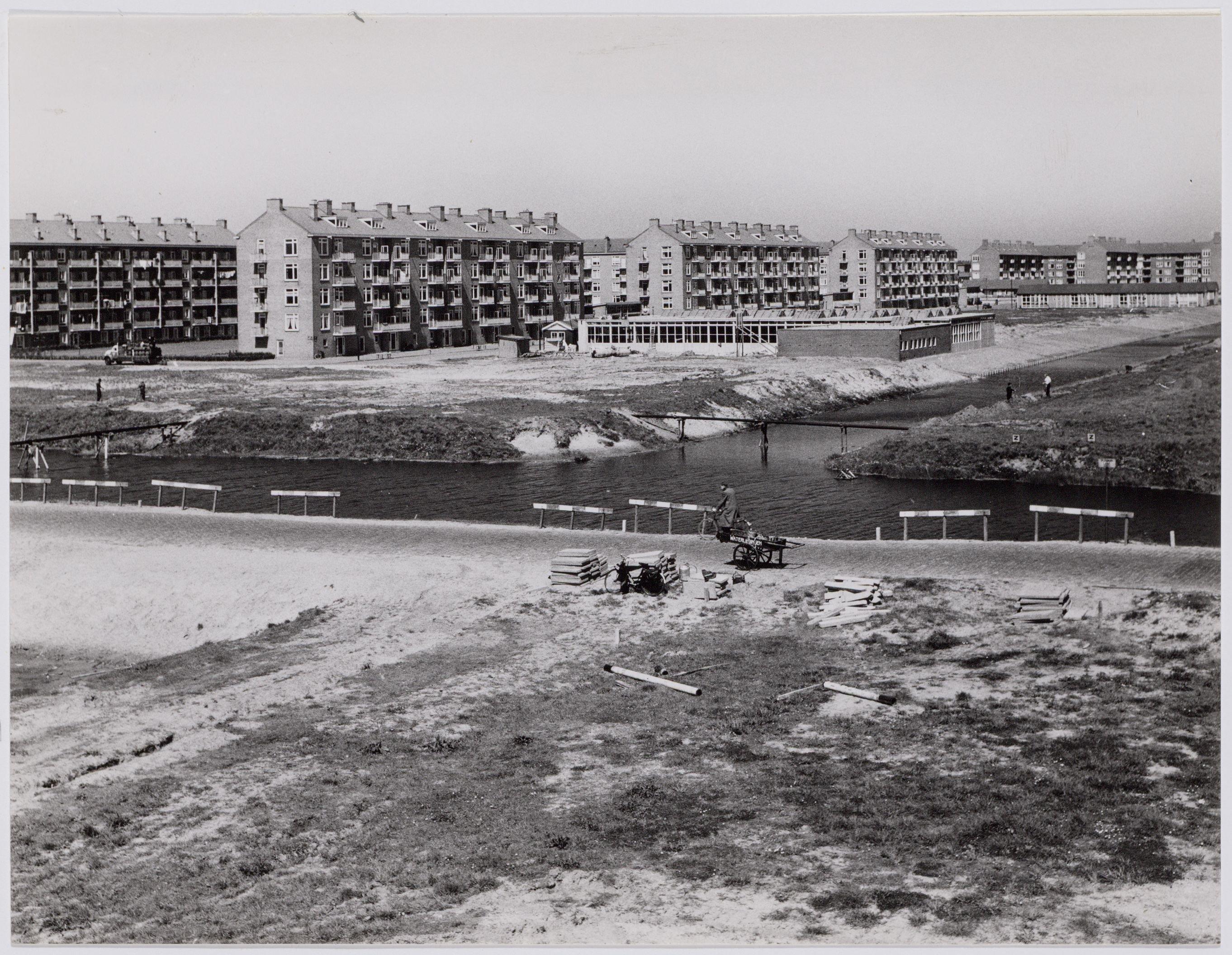 Amsterdam Plesmanlaan in 1959, foto J.M. Arsath Ro'is