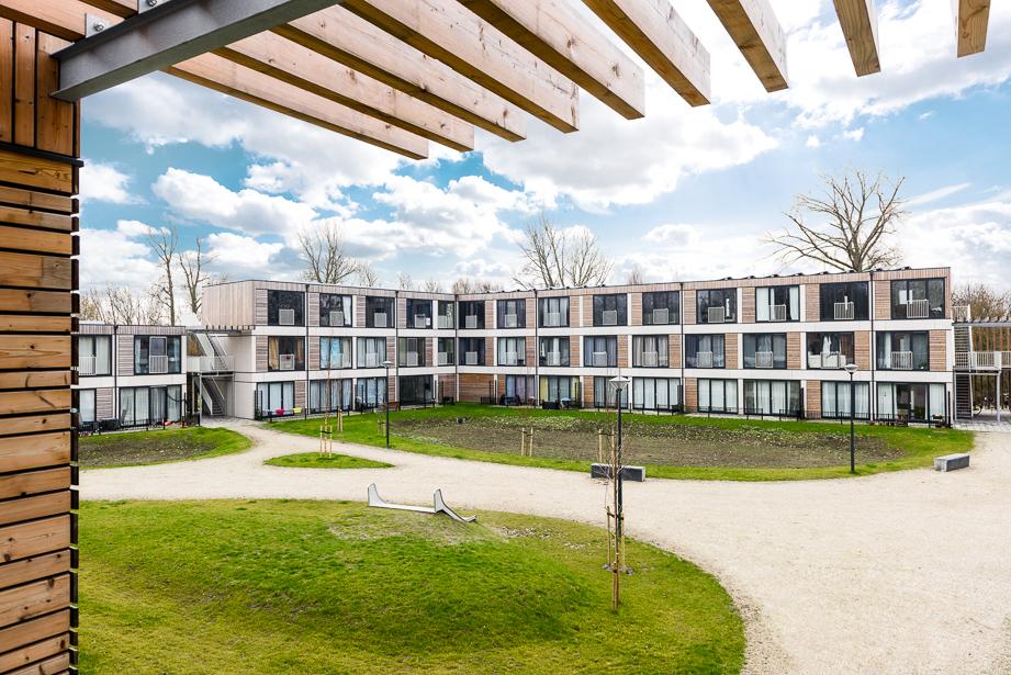 Flexwonen Nico van der Horstpark in Leiden